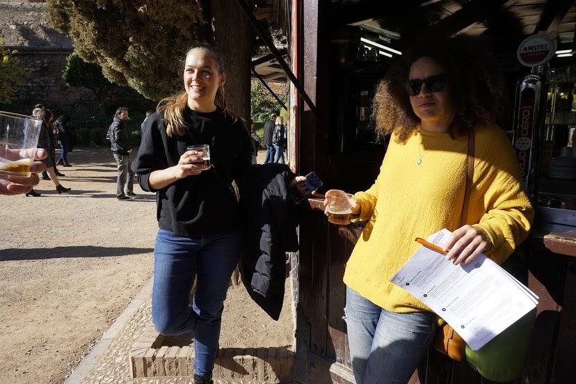 Parada en la ruta de turismo en Comunidad WordCamp Granada 2019