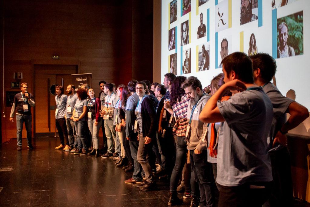 Equipo de organizadores y voluntarios WordCamp Granada 2019