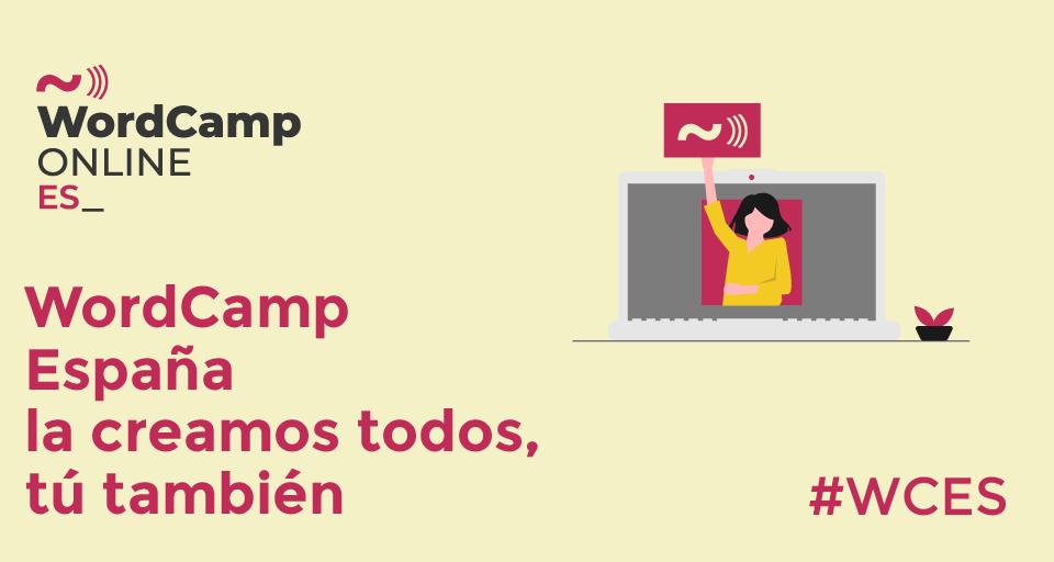 Promoción de WordCamp España 2020